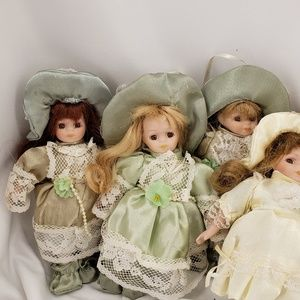 Other - Small Porcelain Collectible Dolls
